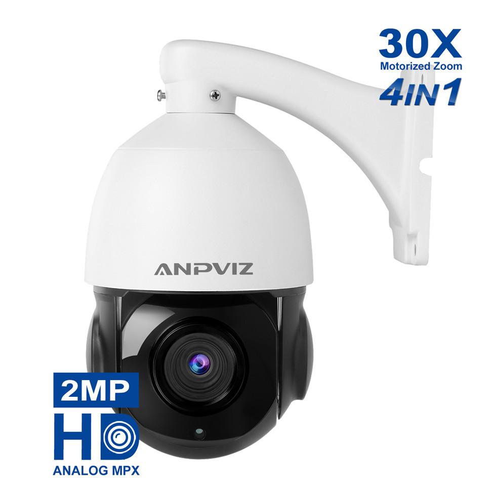 27c56b713d3 Anpviz Mini PoE IP PTZ dome Camera 1080P 5X optical zoom 2.7-13.5mm indoor   Outdoor IP66 Weatherproof CCTV Camera