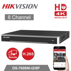 Hikvision DS-7608NI-I2/8P 4K 8ch NVR