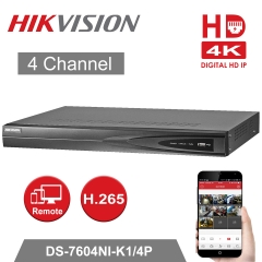Hikvision DS-7604NI-K1/4P 4K 4ch NVR
