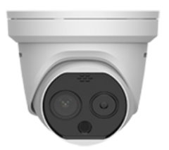 DS-2TD1217-2/PA Thermal & Optical Network Turret Camera