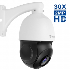 Anpviz 1080P IP High Speed PTZ Outdoor Security Camera, 30X Optical Zoom HD 2.0 megapixel 30fps ONVIF Night Vision up to 250ft (AZ-IPZ45230, come with
