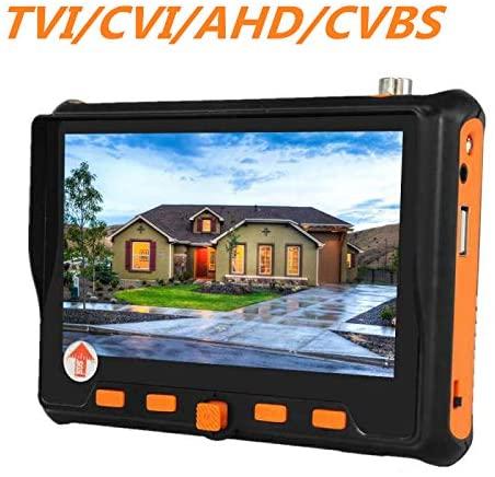 Überwachungskamera Prüfer Einsteller AHD CCTV Tester Messgerät PTZ Monitor Video